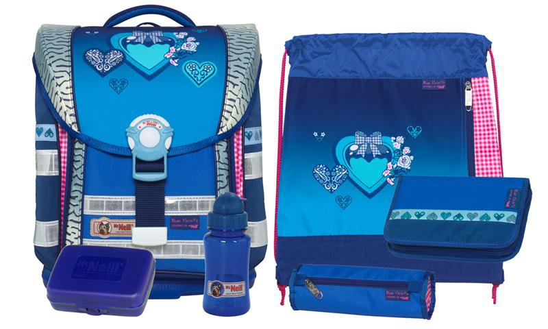 mcneill ergo light compact set blue hearts. Black Bedroom Furniture Sets. Home Design Ideas