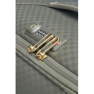 Samsonite Uplite Spinner 67 cm in gunmetal /gold