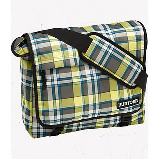 Burton Synth Mesenger in trench province plaid