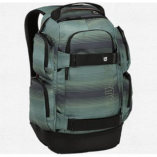 Burton Distortion Rucksack in ombre stipe