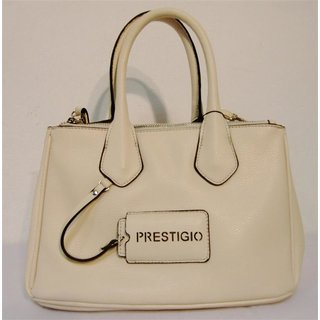 Prestigio by Jacky & Celine Damenhandtasche  in white