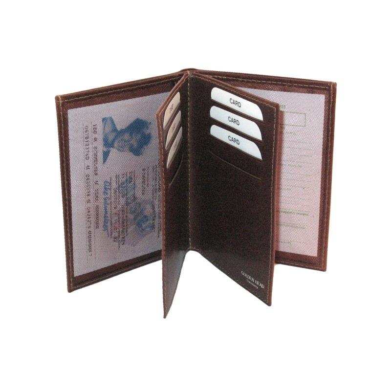 Golden Head Colorado Classic Ausweis Kreditkarten Etui In Tabacco