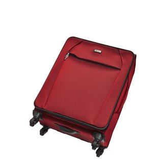 Stratic UNBEATABLE  M 4-Rollenkoffer/Trolley in Rubyred