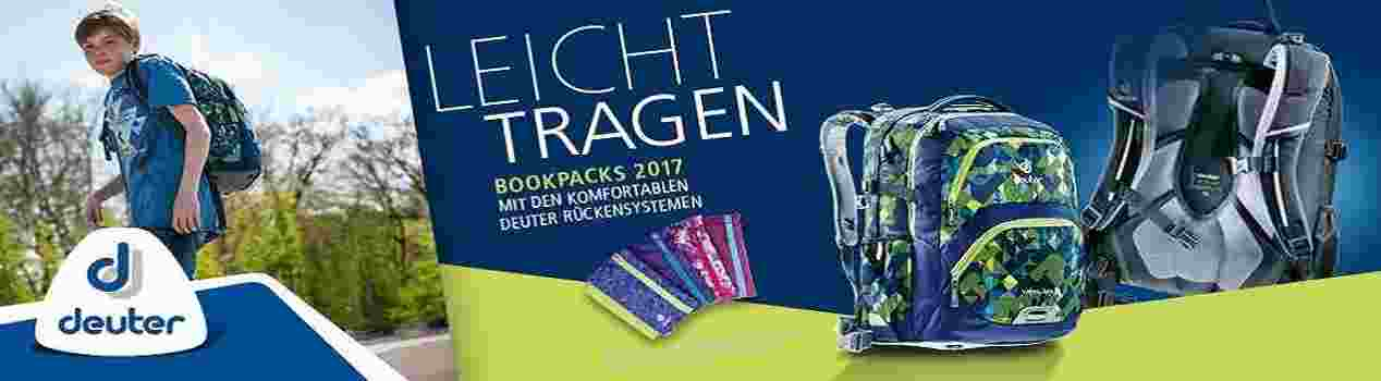 Deuter Bookpackaktion gratis Federmäppchen