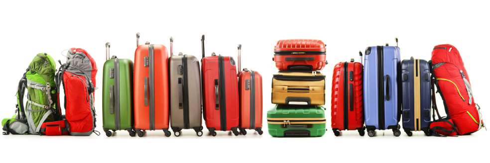 vielfältiges Reisegepäck